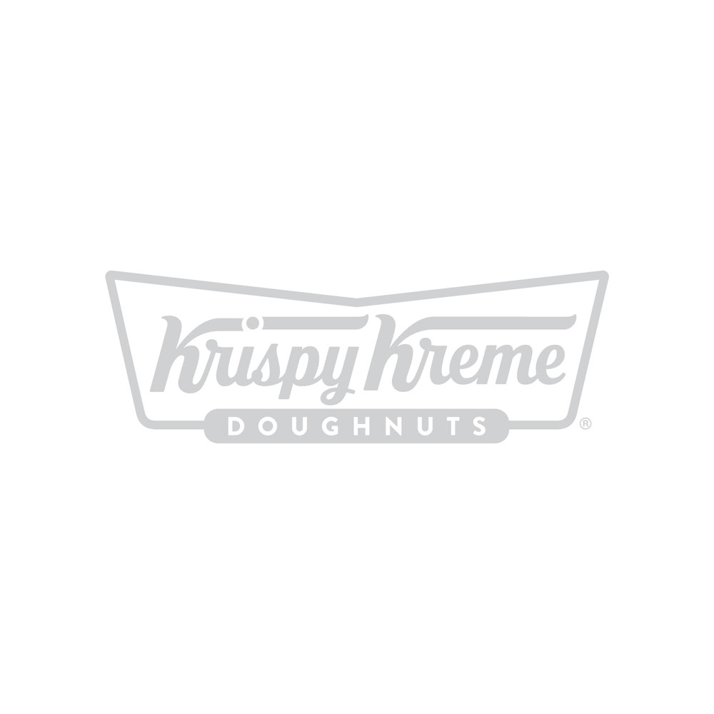 raspberry glazed doughnut